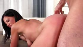 Dirty whore is nasty sucking the pecker